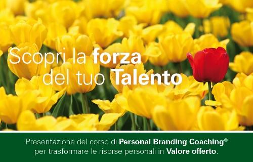 Nuovo workshop: scopri la forza del tuo Talento!