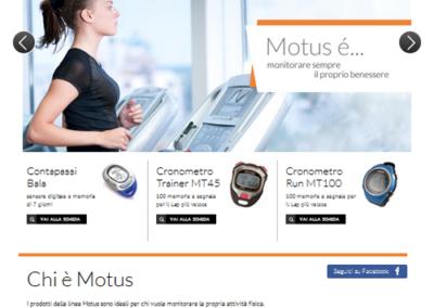Motusport - Homepage Sito