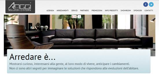 Il restyling di un sito per una nuova immagine aziendale